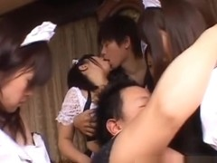 Japanese busty babes in sex orgy part3