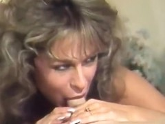 Cougar Fucks Two Dudes In Classic Porn - Golden Age Media