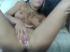 Using Both Her Hands To Wank And Suck My Cock