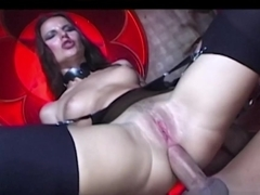 Exotic pornstars Claudia Rossi, Jane Darling in Fabulous Dildos/Toys, Threesomes adult movie