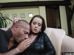 LaSublimeXXX Busty Cindy Dollar take a hard cock in her