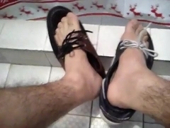 Shoeplay & Jerking Off With My Boat Shoes