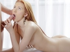 Camila aka Erica gets facial after fucking for the art porn