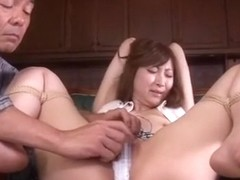 Hottest Japanese girl Leila Aisaki in Horny Amateur, Toys JAV movie