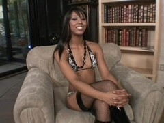 Sexy Black Woman Shows Her Stuff