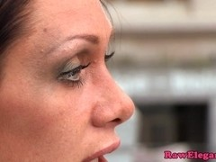 Cynthia Vellons assfucked by black cock