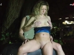 MyDirtyHobby - Risky outdoor fuck for kinky amateur couple
