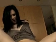cute darksome hair gal anal angell summers