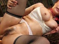 Hot Hinata Komine Loves Double Penetration Fun - AsiansBondage