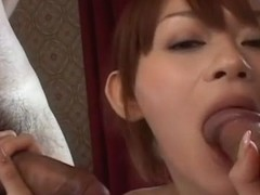 Rina Wakamiya Plays Two Men And A Babe