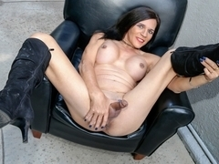 Behold The Luscious Jacquie Blu - TGirl40