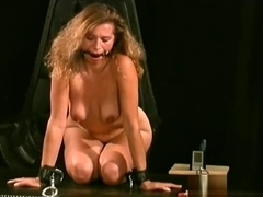 Nude Milf Gets The Tits Tied Up In Slavery Sex Scenes