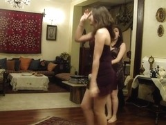 Egyptian sexy girls dancing in hot outfits