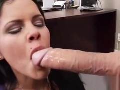 Sexy Horny Girl (diamond kitty) With Big Tits Riding Cock In Office movie-14