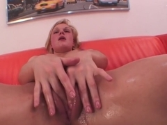 Explicit anal riding session