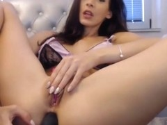 crazy hot chick spreading pussy