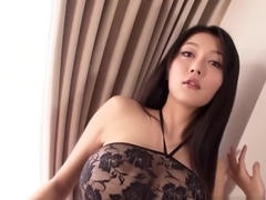 Busty Asian model fucked