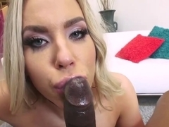 Olivia Austin is a smashing blonde cock teaser, who likes to fuck Isiah once in a while