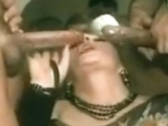Double blowjob vintage edition