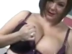 Roxy Anderson Plays With Her Tits And Pussy
