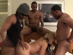 Nikki Sexx Takes Monster Black Cocks