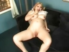 Big Tit Pregnant blonde Loreen