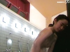 Spy cam girls exposing their boobs in the shower room dvd 03201