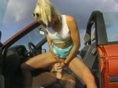 schoolgirl picked for for wild ride