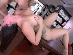 Marvelous busty Alison Tyler featuring cocksucking video