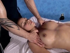 Tantric Massage 96 - 18 Year Old Has Intense G Spot Orgasms Fucks Masseuse
