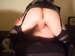Best Homemade Shemale video with Latex, Fucks Shemale scenes