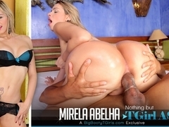 Mirela Abelha in Nothing but TGirl ass - BigBootyTGirls