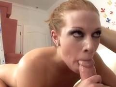 Fiery red head Andi Ashton is a pro at unfathomable mouth