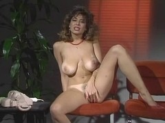 Christy Canyon play whit sex toy