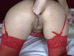 Fisted my ass after using a Speculum Anal gaping