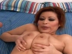 Delicious, curvy Latina with big boobs Misty Mendez and lucky Bob