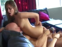 Tiny Young Goddess Riley Reid Leaves Him Begging For More