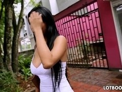 Colombian big ass Camila get fucked