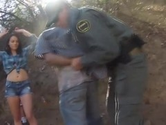 Mexican Border Patrol Gets Even By Fucking Kayla West