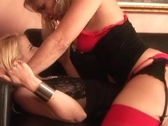 Anita Blue and Kelly Leigh in Mature Hardcore Video