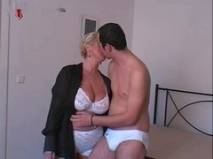 Slavic short hair Older big beautiful woman