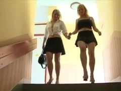 Interracial group sex with hungarian milfs Meri and Lara