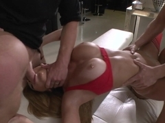 Best pornstars Subil Arch, Chad Rockwell, Rocco Siffredi in Crazy Threesomes, Stockings sex clip