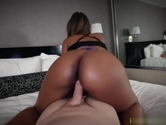 Chanell Heart Enjoys Banging Thick White Cock
