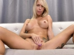 Impressive, blonde model, Mary Queen wants to make a few erotic videos, just for fun