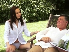 Incredible pornstar Ashley Woods in Fabulous Oldie, College porn clip