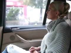Married lady sucks and fucks driver - FakeTaxi