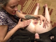 Perverse Family - Mom With Son Pissing On Naughty Daughter
