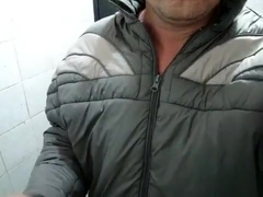Wetlook down Jacket