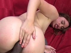 Jodi Taylor tries BBC anal with her friend